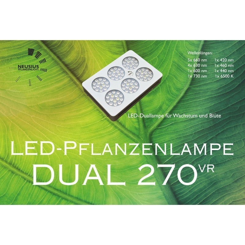 LED-Pflanzenlampe Dual 270VR