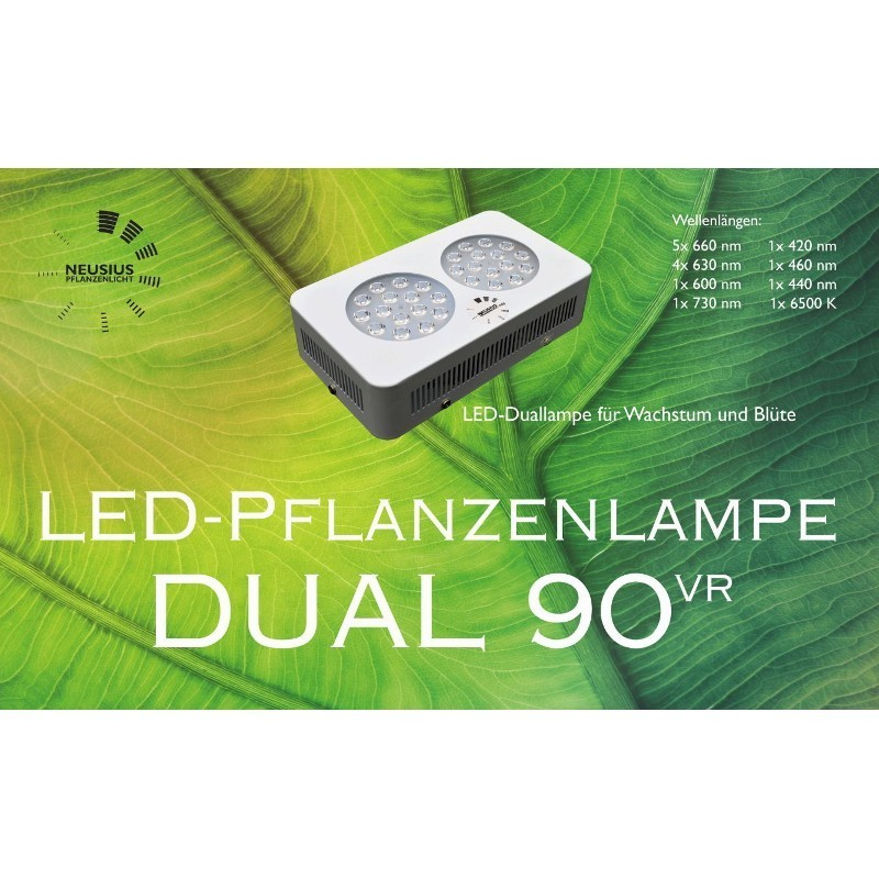 LED-Pflanzenlampe Dual 90VR