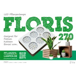 LED-Pflanzenlampe Floris 270
