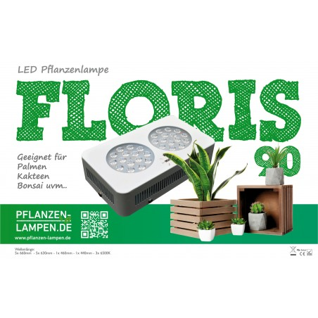 LED-Pflanzenlampe Floris 90